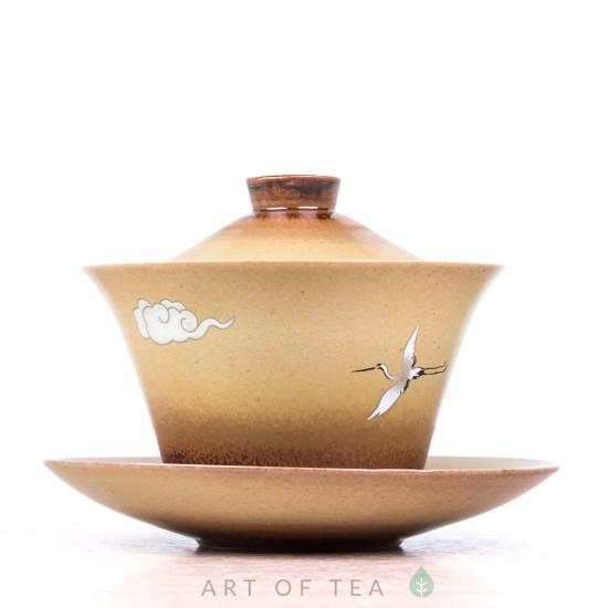 Гайвань Журавль в облаках, керамика, 155 мл