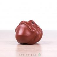 Фигурка Жаба мини #1, исинская глина, 4 см