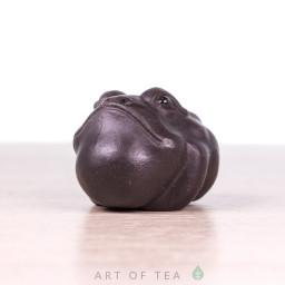 Фигурка Жаба мини #3, исинская глина, 4 см
