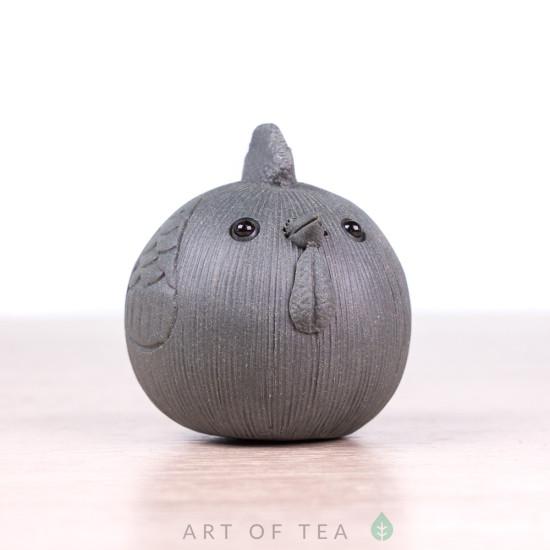 Фигурка Округлый петушок, исинская глина, 3 см
