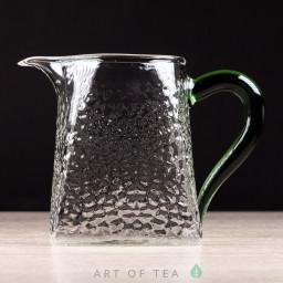 Чахай Трапеция с зелёной ручкой, отбивное стекло, 325 мл