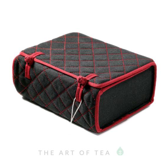 Чехол-шкатулка для чайной утвари