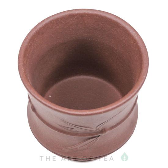 Пиала Бамбук 421, исинская глина, коричневая, 95 мл