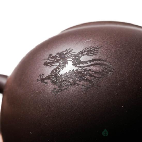 Чайник к99, глина, коричневый, 230 мл