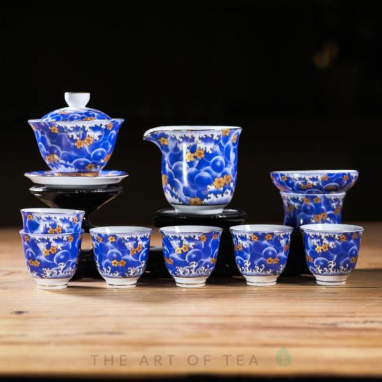 Набор посуды s65, Волна, 9 предметов