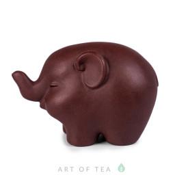Фигурка Довольный слоник 269, глина