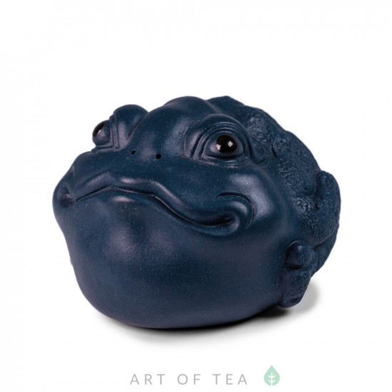Фигурка Синяя жаба 251, глина