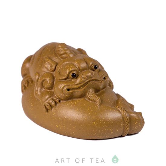 Фигурка Собака-Дракон на мешке 257, глина