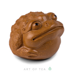 Фигурка Песочная жаба малая 253, глина