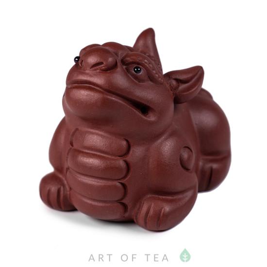 Фигурка Собака-Дракон 244, глина