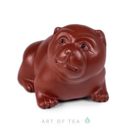 Фигурка Собака 202, красная глина, 6 см