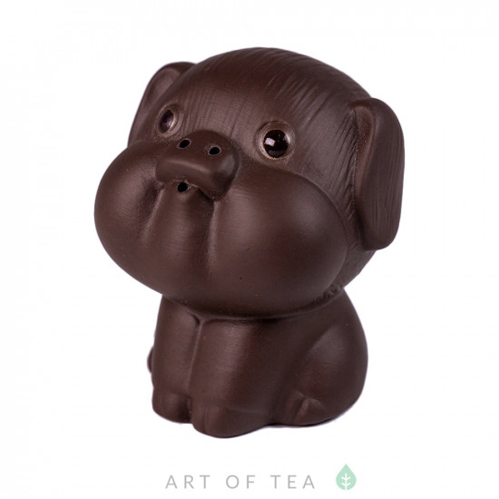 Фигурка Сидячая свинка, глина