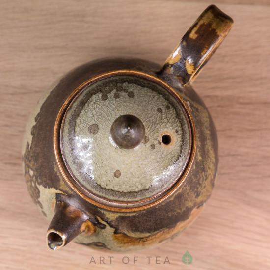 Чайник Одинокий путник, Цзиндэчжэнь 146, ручная роспись, 190 мл