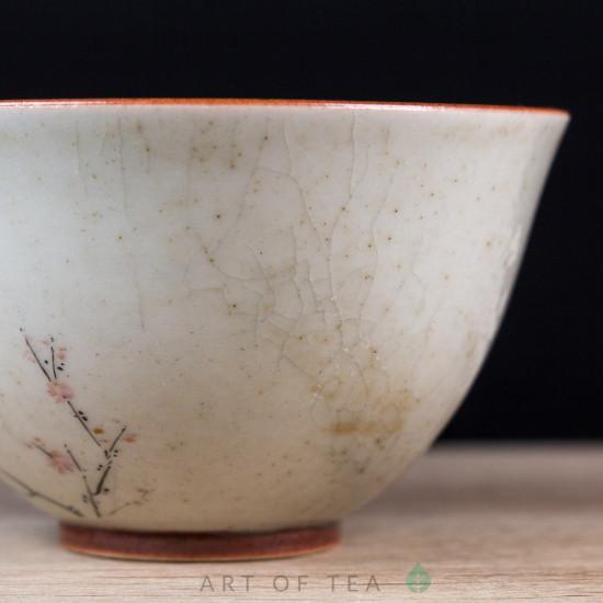 Пиала Цзиндэчжэнь 585, ручная роспись,90 мл