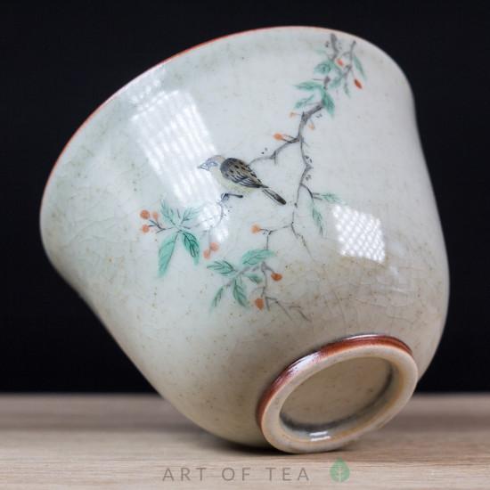 Пиала Цзиндэчжэнь 595, ручная роспись, 100 мл