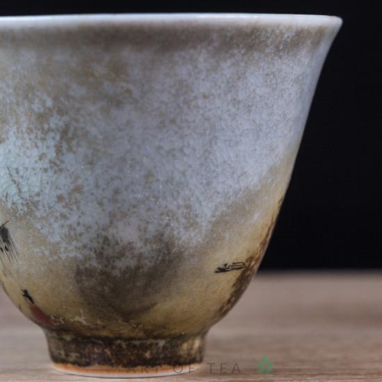 Пиала Цзиндэчжэнь 584, ручная роспись, 70 мл