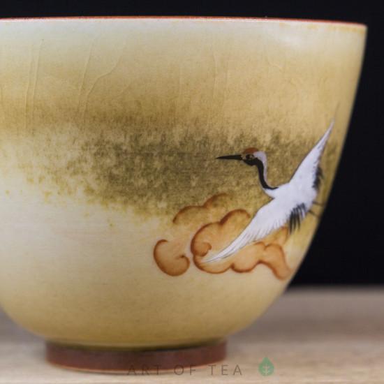 Пиала Цзиндэчжэнь 596, ручная роспись, 110 мл