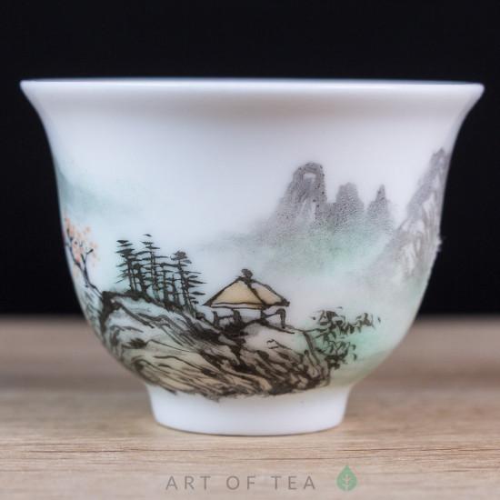 Пиала Цзиндэчжэнь 579, ручная роспись, 40 мл
