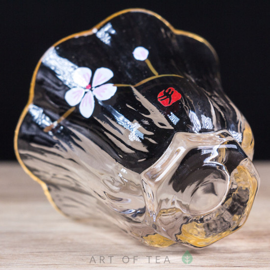 Пиала Персиковый цветок, стекло, 50 мл