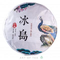 Радужный павлин, шэн пуэр, 2019 г, 357 гр