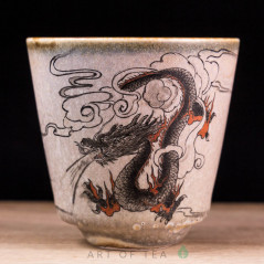 Пиала Цзиндэчжэнь 608, ручная роспись, 65 мл