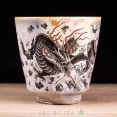 Пиала Цзиндэчжэнь 605, ручная роспись, 60 мл
