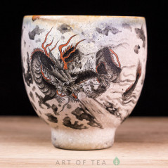 Пиала Цзиндэчжэнь 607, ручная роспись, 60 мл