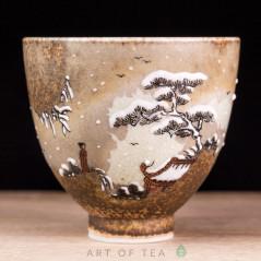 Пиала Цзиндэчжэнь 604, ручная роспись, 50 мл