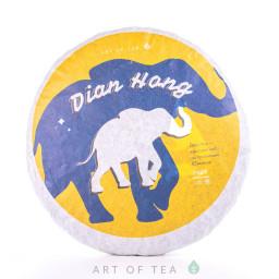 Дянь Хун со слоном, 2020, блин 100 г