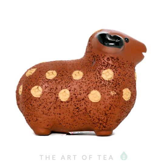 Чайная фигурка Овечка, глина