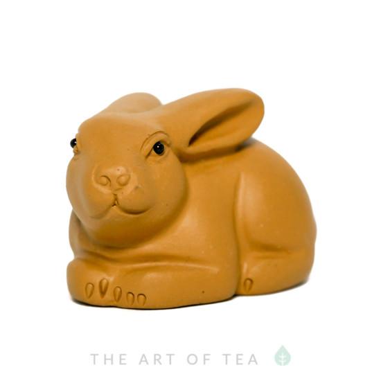 Чайная фигурка Заяц 1, глина