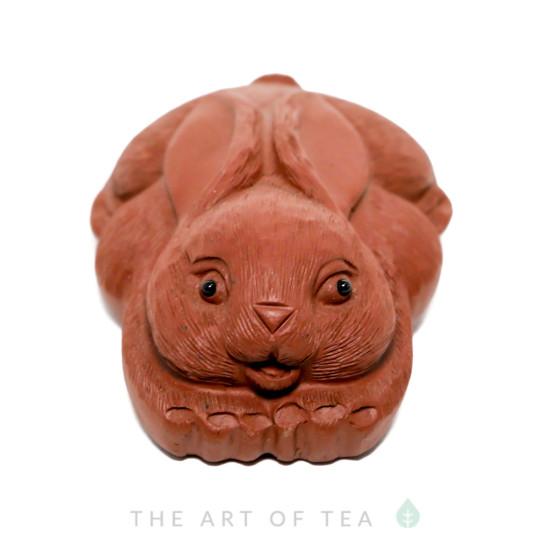 Чайная фигурка Заяц 2, глина