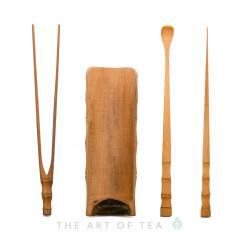 Инструменты для чайной церемонии #8, бамбук