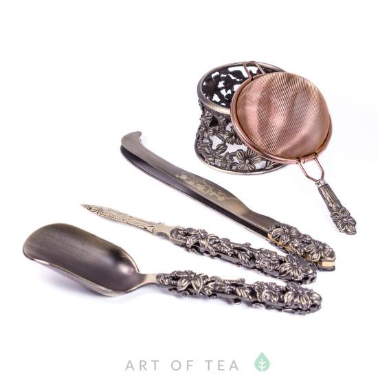 Инструменты для чайной церемонии, металл