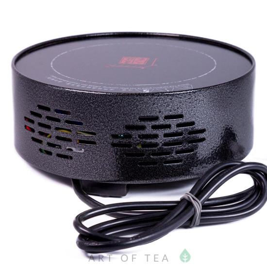 Электроплитка для кипячения воды, чёрная, 1500W