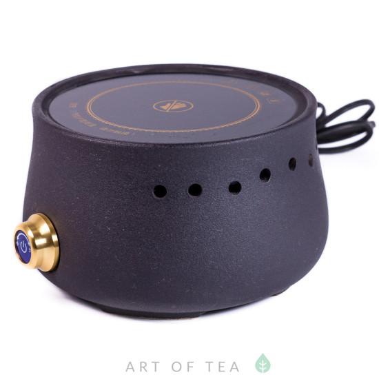 Электроплитка для кипячения воды, чёрная, 900W