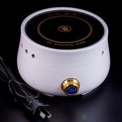 Электроплитка для кипячения воды, белая, 900W