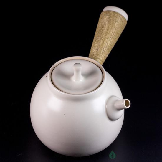Чайник для воды, огнеупорная керамика, белая глазурь #1