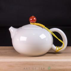 "Чайник ""Си Ши"", фарфор, белый, 210 мл"