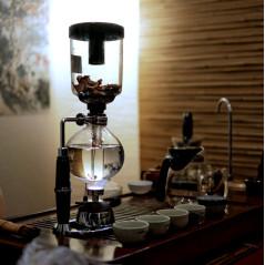 Варка чая в сифоне - зрелищный инновационный метод
