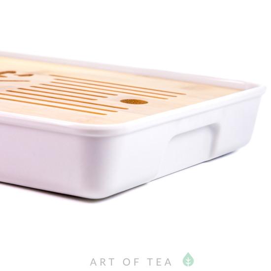 Чабань Чай #72, меламин, бамбук, 33*19 см