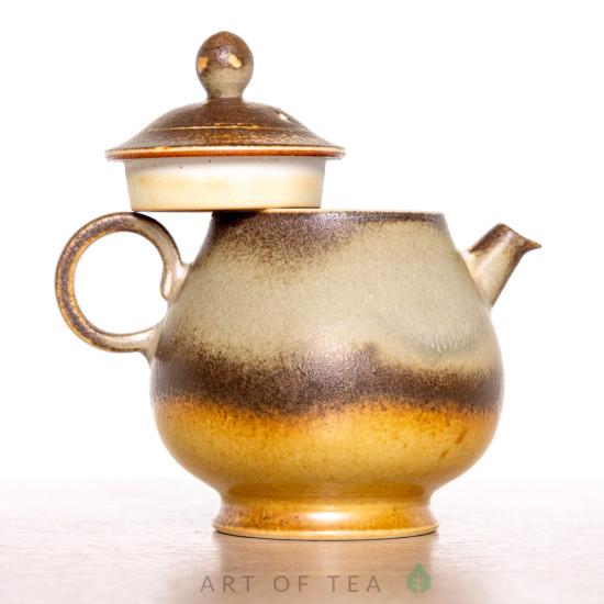 Чайник Серые капли 217, Цзиндэчжэнь, 190 мл