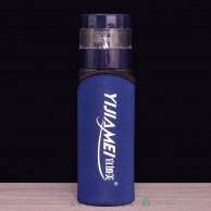 Бутылка заварочная с кнопкой, двойное стекло, 450 мл