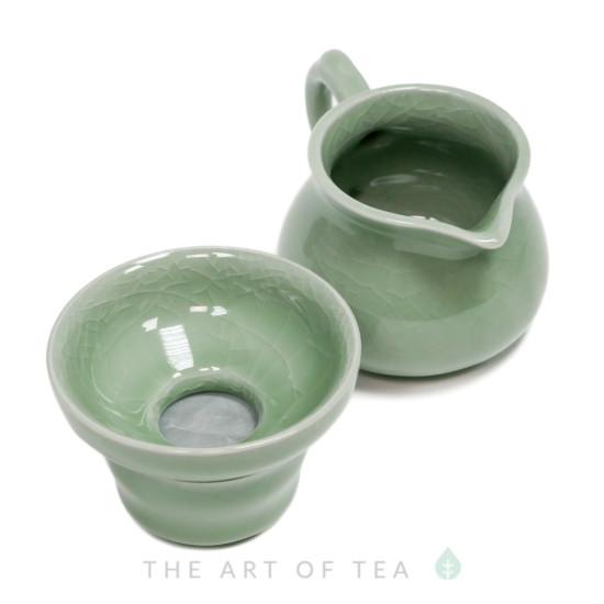 Набор для чайной церемонии s13, Кракелюр, 9 предметов