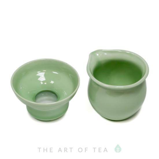 Набор для чайной церемонии s11, Рыбки, 9 предметов