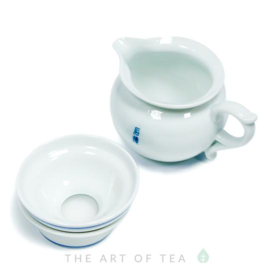 Набор для чайной церемонии s12, Голубой Круг, 9 предметов