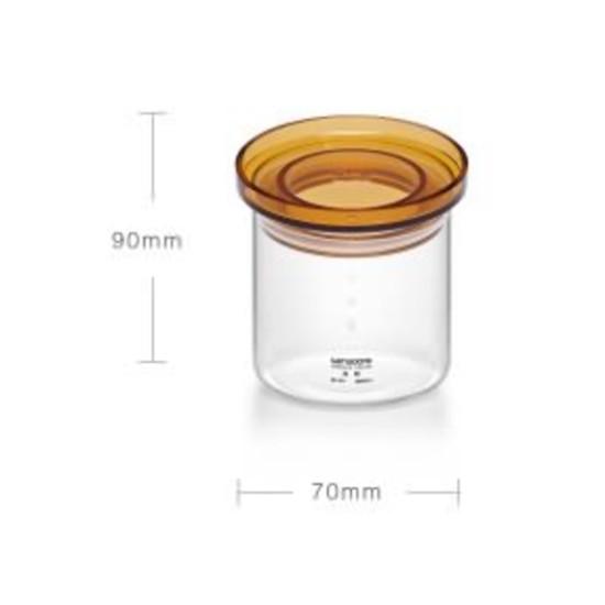 Sama Doyo S-101F, баночка для чая, стекло, 300 мл