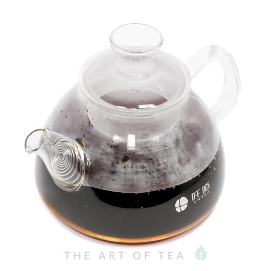 """Чайник для воды """"Конус"""", огнеупорное стекло, 1200 мл"""