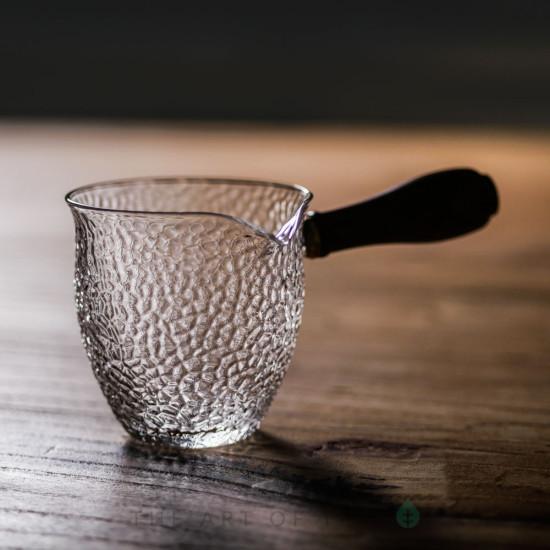 Чахай Рельеф с боковой ручкой, отбивное стекло, 175 мл