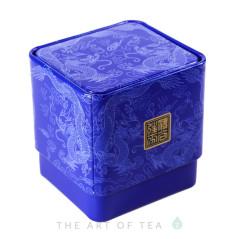 Баночка для чая Дракон, синяя, 6*6,5*7 см